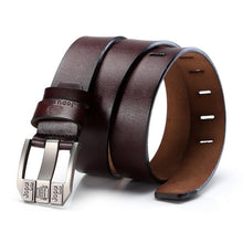 Load image into Gallery viewer, Men's Jeep Leather Belt