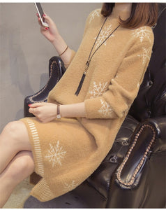Warm Sweater Dress