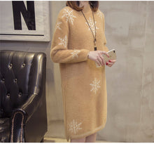 Load image into Gallery viewer, Warm Sweater Dress
