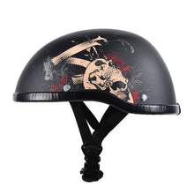 Load image into Gallery viewer, Motorcycle Half Face Helmet