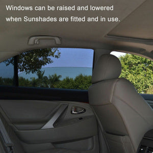 4pcs Car Windows Sun Shades