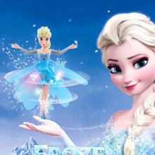 Load image into Gallery viewer, Frozen Princess Elsa Flying Fairy