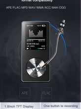 Load image into Gallery viewer, Portable Metal mp3 Player Built-in Speakers