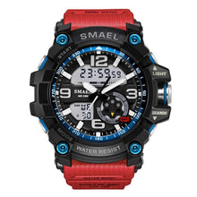 Load image into Gallery viewer, S Shock Men's Sport Wristwatch Dual Time