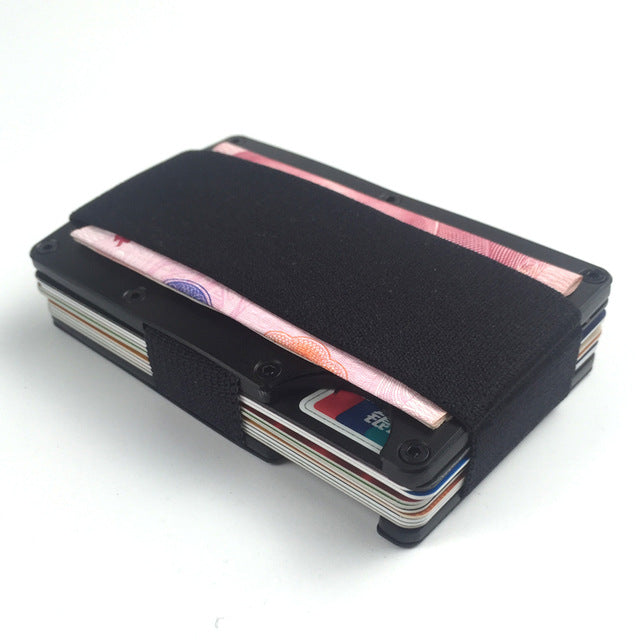 Men's Pocket Aluminum Wallet