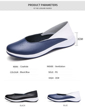 Load image into Gallery viewer, Women's Flat Leather Moccasin Shoes