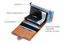 Load image into Gallery viewer, Business Credit Card Holder Wallet Unisex