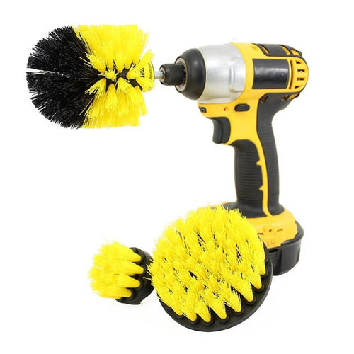 3 pcs/set Power Scrubber Drill Brush