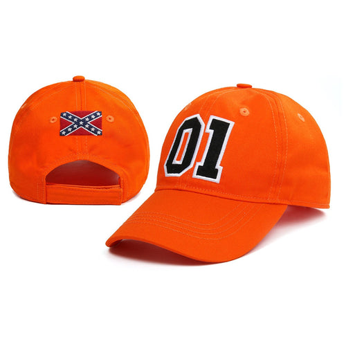 General Lee 01 Embroidered Cotton Twill Cap