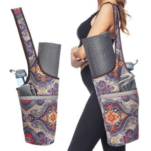 Load image into Gallery viewer, Printed Yoga Canvas Bag