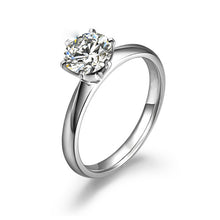 Load image into Gallery viewer, 18K Women's Engagement Ring