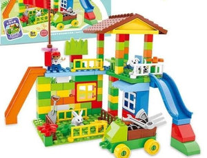 City Fire Department Building Block Toys