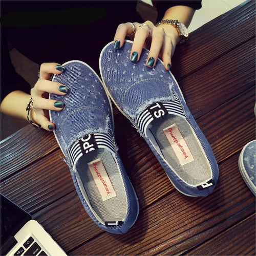 Women's Denim Shoes