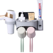 Load image into Gallery viewer, Toothbrush Holder Toothpaste Dispenser