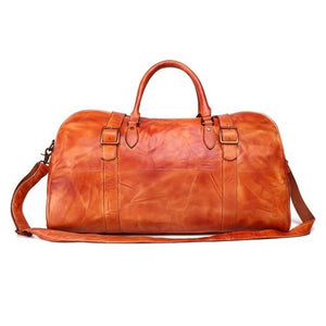 Men's Leather Travel Bag