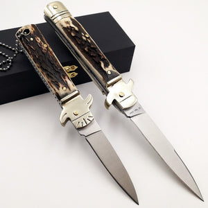 Italian Mafia Switchblade Knife