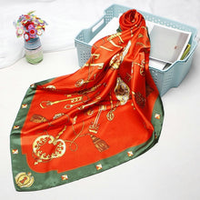 Load image into Gallery viewer, Silk Satin Scarf 90*90cm For Ladies