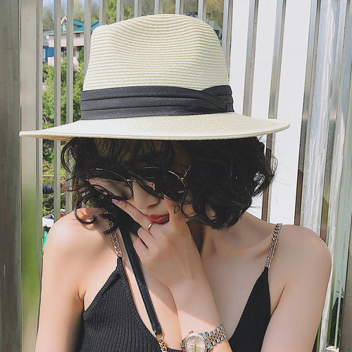 Summer Unisex Sun Straw Hat