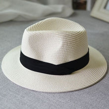Load image into Gallery viewer, Summer Unisex Sun Straw Hat