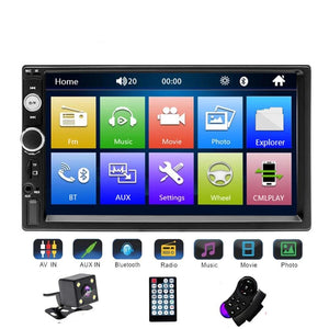 Universal 2 din Car Multimedia Player