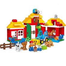 Load image into Gallery viewer, City Fire Department Building Block Toys