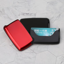 Load image into Gallery viewer, Unisex Metal Wallet ID Business Credit Card Holder