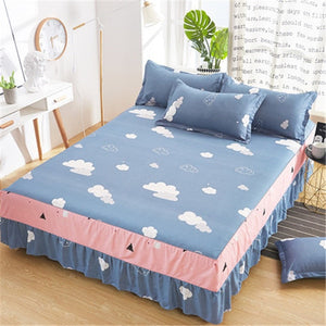 Fashion Printing Bedsheet Single Double Bed