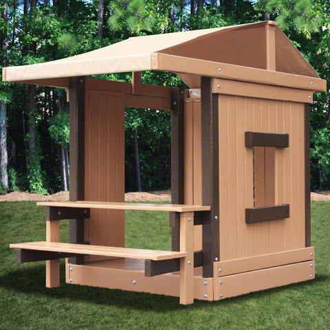 Congo Clubhouse With Picnic Table