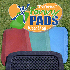 "1.5"" Fanny Pads - Rubber Safety Mat - 2 Pack"