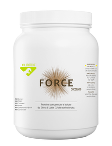 FORCE CIOCCO - Proteine concentrate e isolate da Siero di Latte EU ultraselezionato