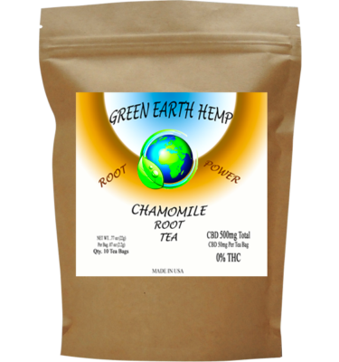 Chamomile Root Tea - 10 Pouch