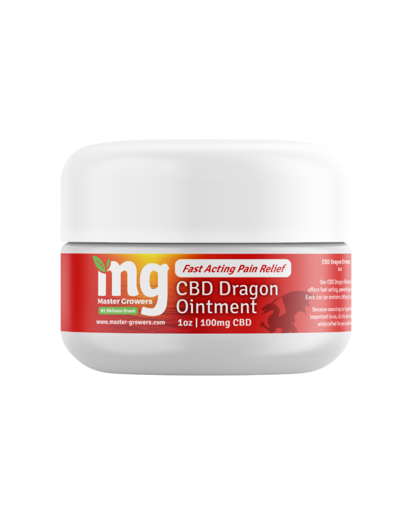 CBD DRAGON OINTMENT : FAST ACTING AND POWERFUL PAIN RELIEF