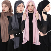 Wraps Plain Hijab  Headscarf