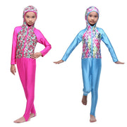 Muslim One-piece Girl Swimsuit