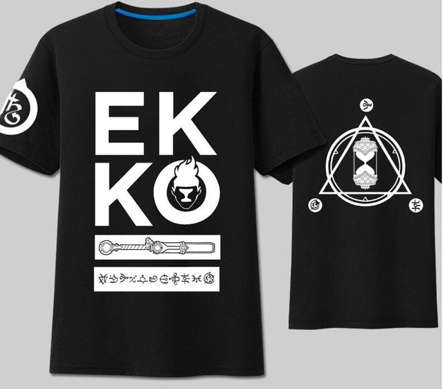 07ab697c LOL Ekko the Boy Who Shattered Time T-shirt – Noob Inception Co.