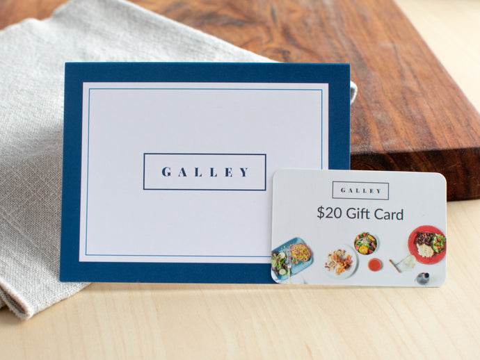 Galley Gift Card