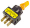 TOGGLE SWITCH YELLOW 20 AMP