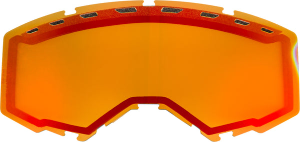 Dual Lens With Vents Adult Red Mirror-persimmon