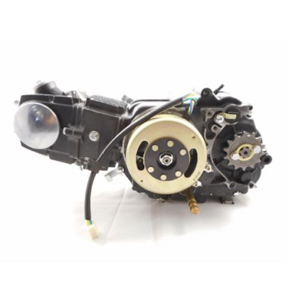 110cc 3 speed Semi-Auto Kick Start  Black for DB 14 and more