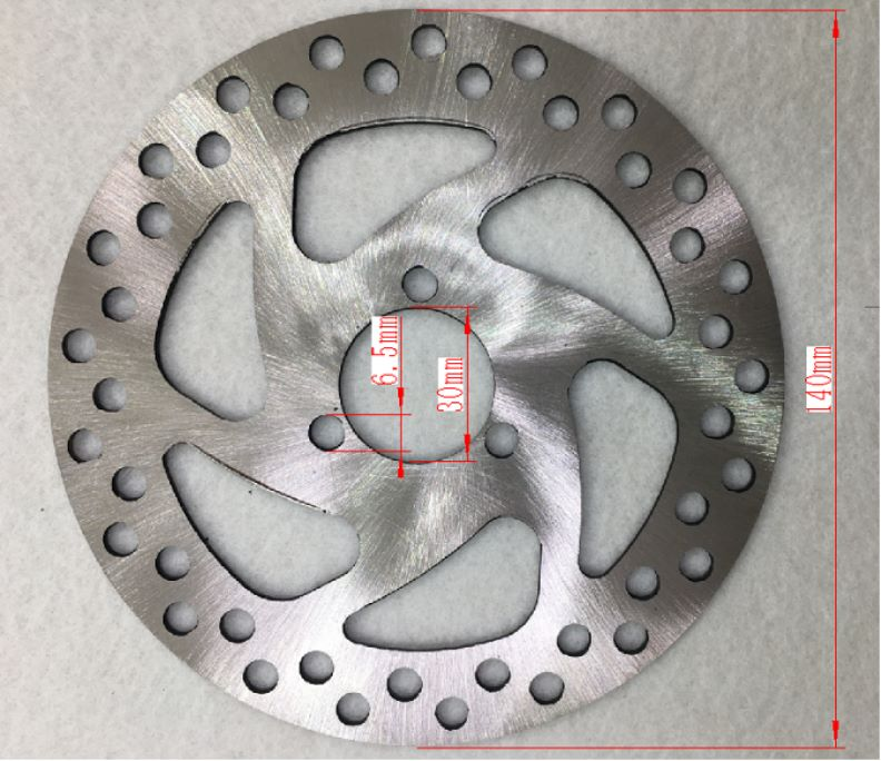 Rear Disk Brake Rotor  140x1 for E1-350 and more