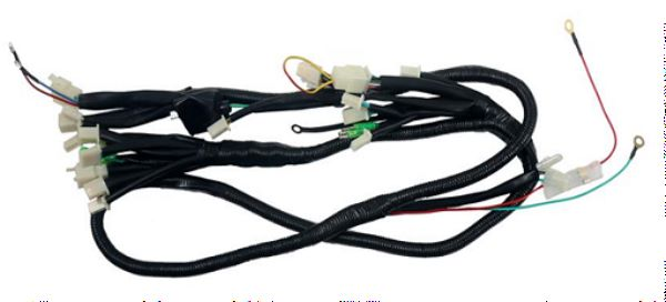 Wire Harness; DOT for HELLCAT 125