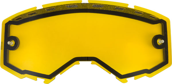 Dual Lens W-vents And Post Yellow