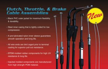 Throttle Cable 45-1087 By All Balls Racing