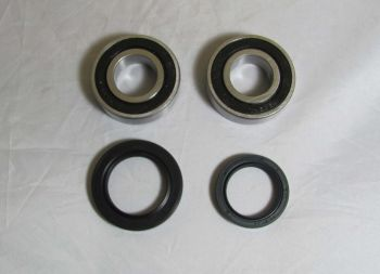 Wide Open Rear Bearing and Seal Kitfor Kawasaki KLF220 Bayou , KLF250 Bayou , KLF300 Bayou 4x4 1988 , 1989 , 1990 , 1991 , 1992 , 1993 , 1994 , 1995 , 1996 , 1997 , 1998 , 1999 , 2000 , 2001 , 2002 , 2003 , 2004 , 2005 , 2006 , 2007 , 2008 , 2009