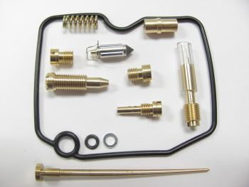 Carburetor Repair Kit 03-458 for Arctic Cat 650 H1 4x4 2005-2006; by Wide Open