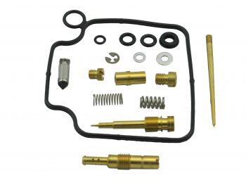 CARBURETOR REBUILD KIT 03-029 HONDA TRX300 91-92 by Wide Open
