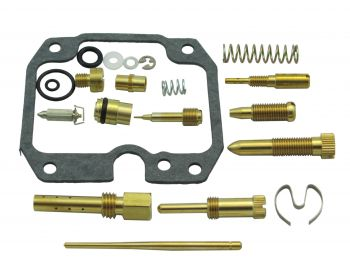 Carburetor Rebuild Kit 03-111 for Kawasaki KLF250 Bayou 03-06 by Wide Open