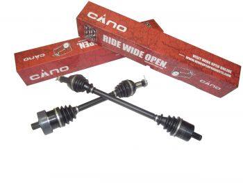 Complete Cano HD Rear Axle Both Sides Polaris 335/400/500 Sportsman , 500 Worker Wide Open by Interparts TRK-PO-8-302