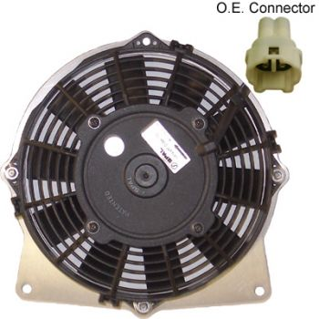 Cooling Fan for Yamaha YFM660 Raptor 01-05 by Universal Parts
