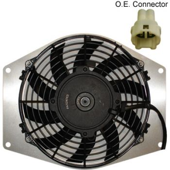 Cooling Fan for Yamaha YFM550/700 Grizzly by Universal Parts